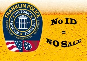 No ID? No Sale!
